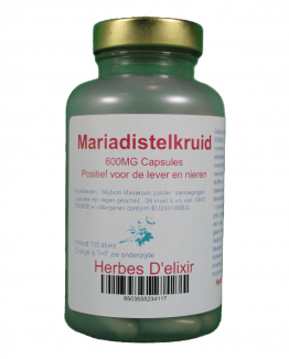 Mariadistelkruid capsules